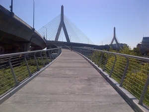 North Bank Pedestrian Bridge