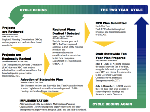 Ten Year Plan Process