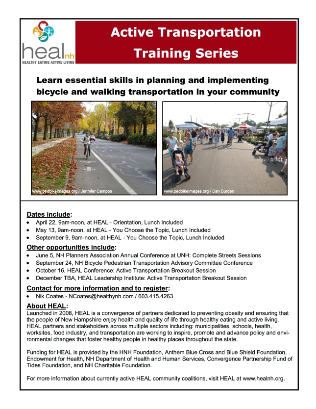 Active Transportation workshops